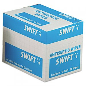 First Aid Antiseptic Wipes/Pads Breakroom Supplies