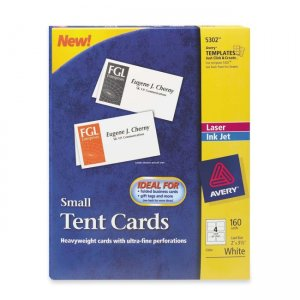 Tent Cards Printer Papers, Speciality Papers & Pads