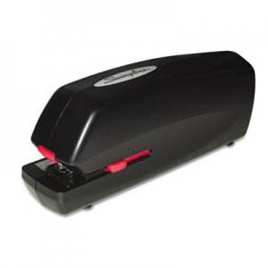 Swingline GBC 48200 Portable Electric Stapler, Full Strip, 20-Sheet Capacity, Black
