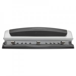 "Swingline GBC 74037 10-Sheet Precision Pro Desktop Two-to-Three-Hole Punch, 9/32"" Holes"