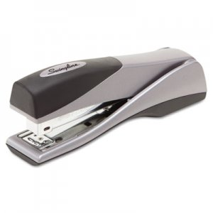 Swingline GBC 87811 Optima Grip Full Strip Stapler, 25-Sheet Capacity, Silver