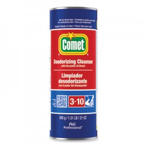 Comet PGC32987CT Cleanser with Chlorinol, Powder, 21 oz Canister, 24/Carton
