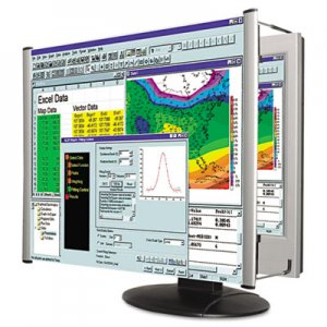 "Kantek KTKMAG19WL LCD Monitor Magnifier Filter, Fits 19""-20"" Widescreen LCD, 16:10 Aspect Ratio"