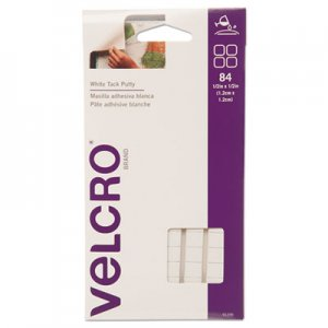 Velcro 91396 Sticky Fix Tak, Removable, 84 Squares/Pack