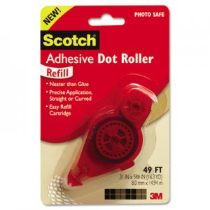Scotch MMM6055R Adhesive Dot Refill, .3 in x 49ft