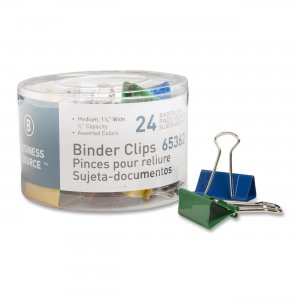 Business Source 65362 Binder Clip