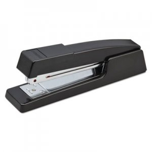 Bostitch BOSB400BK B400 Executive Half Strip Stapler, 20-Sheet Capacity, Black