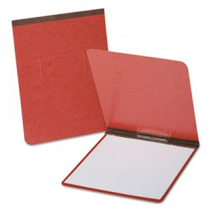 "Oxford OXF71634 PressGuard Coated Report Cover, Prong Clip, Legal, 2"" Capacity, Red"