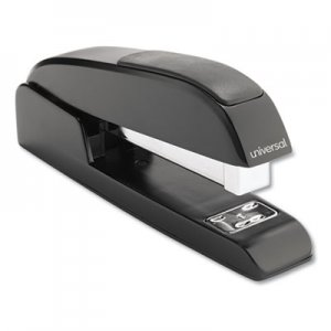 Genpak UNV43138 Executive Full-Strip Stapler, 20-Sheet Capacity, Black