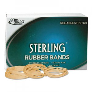Alliance 24625 Sterling Rubber Bands Rubber Bands, 62, 2-1/2 x 1/4, 600 Bands/1lb Box