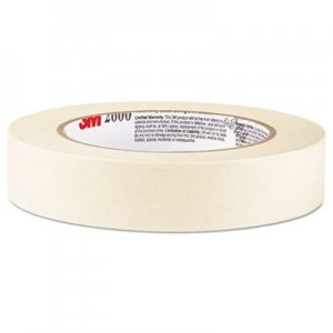 "Highland 260048A Economy Masking Tape, 2"" x 60yds, 3"" Core, Cream"