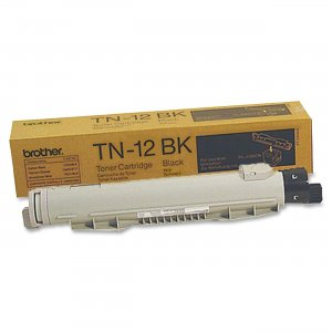 Brother TN12BK 12BK Black Toner Cartridge