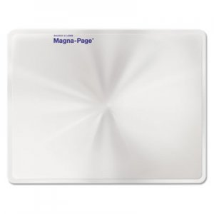 "Bausch & Lomb 819007 2X Magna-Page Full-Page Magnifier w/Molded Fresnel Lens, 8 1/4"" x 10 3/4"