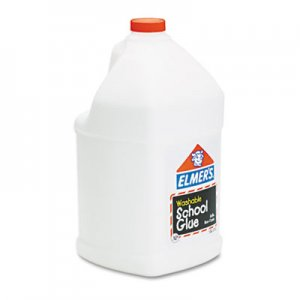 Elmer's E340 Washable School Glue, 1 gal, Liquid