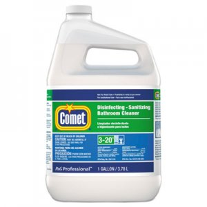 Comet PGC22570EA Disinfecting-Sanitizing Bathroom Cleaner, One Gallon Bottle