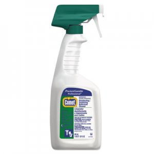 Comet 22569CT Disinfecting-Sanitizing Bathroom Cleaner, 32 oz. Trigger Bottle, 8/Carton