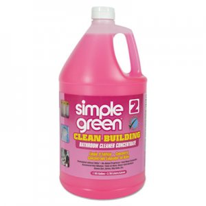 Simple Green 11101 Clean Building Bathroom Cleaner Concentrate, Unscented, 1gal Bottle