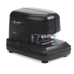 Swingline GBC 69008 High-Volume Electric Stapler, 30-Sheet Capacity, Black