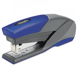 Swingline GBC 66404 Light Touch Reduced Effort Full Strip Stapler, 20-Sheet Capacity, Blue