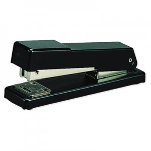 Swingline GBC 78911 Compact Desk Stapler, Half Strip, 20-Sheet Capacity, Black
