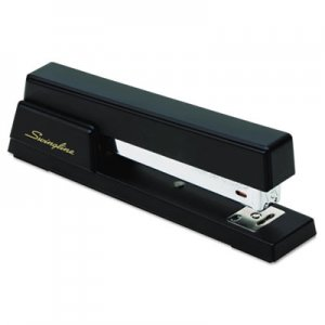 Swingline GBC 76701 Premium Commercial Full Strip Stapler, 20-Sheet Capacity, Black