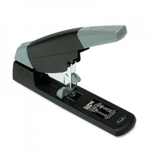 Swingline GBC 90002 High-Capacity Heavy-Duty Stapler, 210-Sheet Capacity, Black/Gray