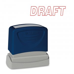 Sparco 60017 Self-Inking Stamp
