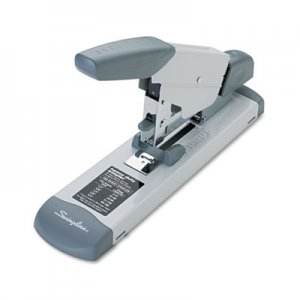 Swingline GBC 39002 Deluxe Heavy-Duty Stapler, 160-Sheet Capacity, Platinum