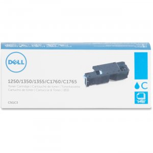 DELL C5GC3 Toner Cartridge - 1 x Cyan - 1400 Pages