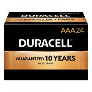Duracell DURMN2400BKD CopperTop Alkaline Batteries, AAA, 144/CT