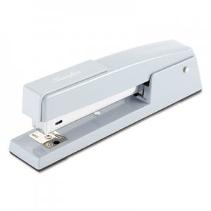 Swingline SWI74708 747 Classic Full Strip Stapler, 20-Sheet Capacity, Sky Blue
