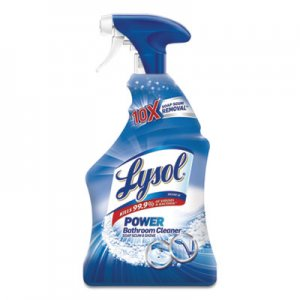 LYSOL Brand RAC02699CT Disinfectant Bathroom Cleaners, Liquid, Island Breeze, 32 oz Spray Bottle, 12/Carton