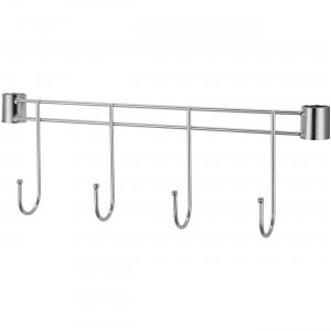 "Lorell 69880 Industrial Wire Shelving 18"" Hook Rack"