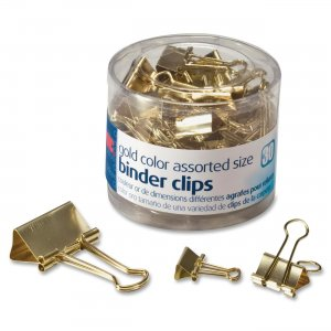 OIC 31022 Assorted Size Binder Clips