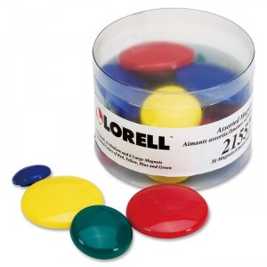 Lorell 21557 Tub of Assorted Magnet