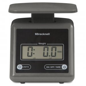Brecknell PS7GRAY PS7 Electronic Postal Scale