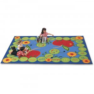 Carpets for Kids 2201 ABC Rectangle Caterpillar Rug