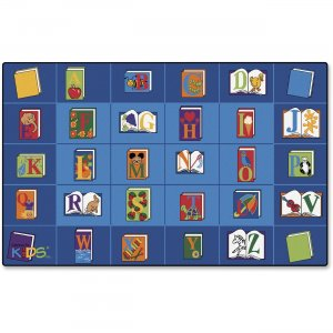 Carpets for Kids 2607 Reading Book Rectangle Seating Rug