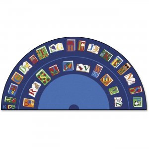 Carpets for Kids 2634 Reading/The Book Semi-circle Rug