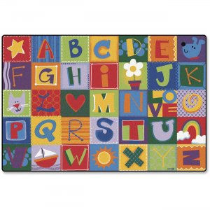 Carpets for Kids 3802 Toddler Alphabet Blocks Rug