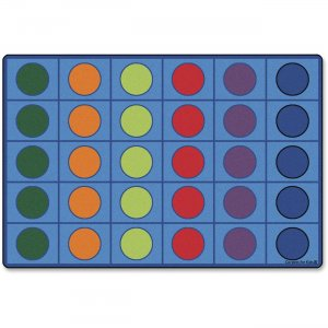 Carpets for Kids 4218 Color Seating Circles Rug
