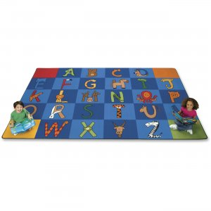 Carpets for Kids 5534 A to Z Animals Area Rug