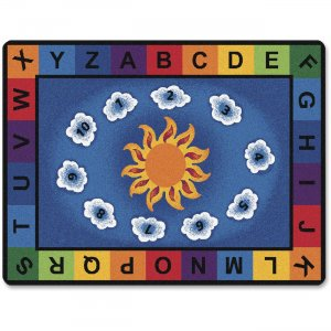Carpets for Kids 9401 Sunny Day Learn/Play Rectangle Rug