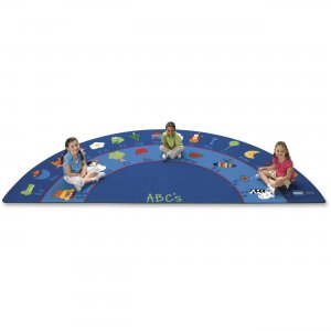 Carpets for Kids 9634 Fun With Phonics Semi-circle Rug
