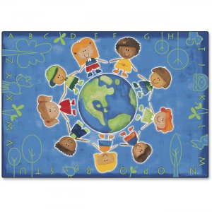 Carpets for Kids 4413 Give The Planet A Hug Rug
