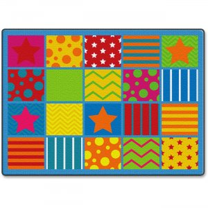 Flagship Carpets FE33132A Silly Seating Classroom Rug