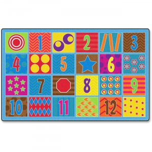 Flagship Carpets FE33644A Counting Fun 24-seat Rug