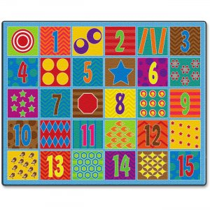 Flagship Carpets FE33658A Counting Fun 30-seat Rug