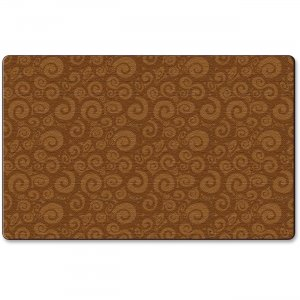 Flagship Carpets FE39332A Solid Color Swirl Rug