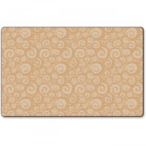 Flagship Carpets FE39444A Solid Color Swirl Rug